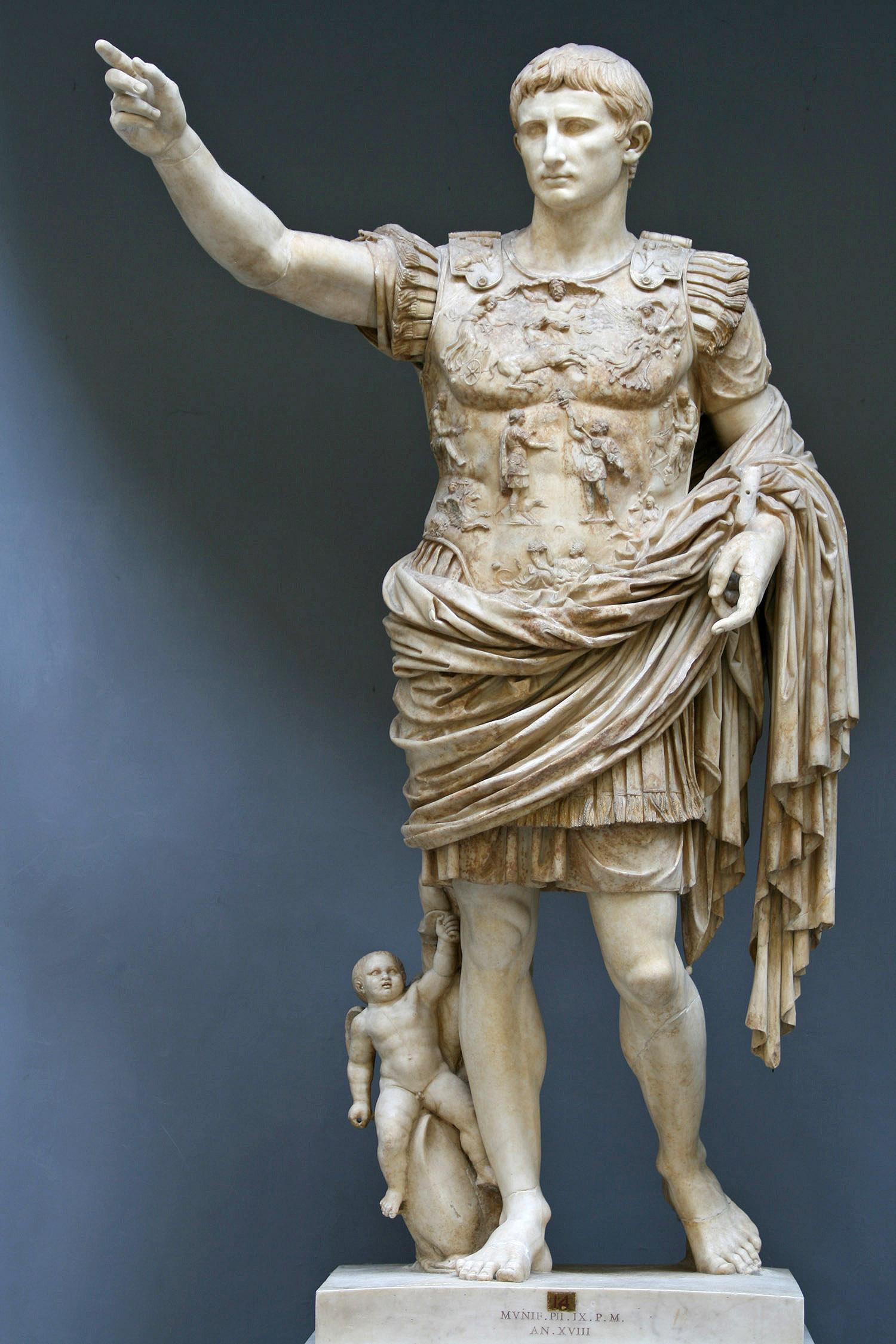Imperator Caesar Divi Filius Augustus