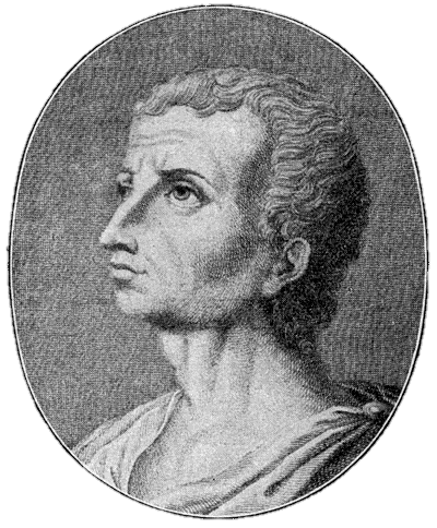 A depiction (perhaps) of Titus Livius courtesy of wikimedia commons