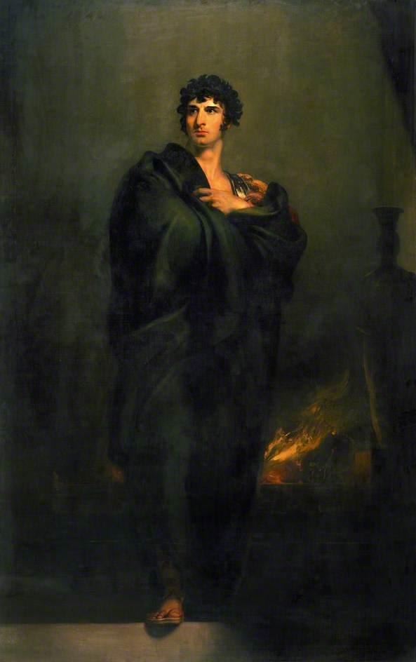 "Thomas Lawrence 1798 'John Philip Kemble as Coriolanus in ""Coriolanus"" by William Shakespeare"
