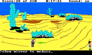 Medusa in King's Quest 3