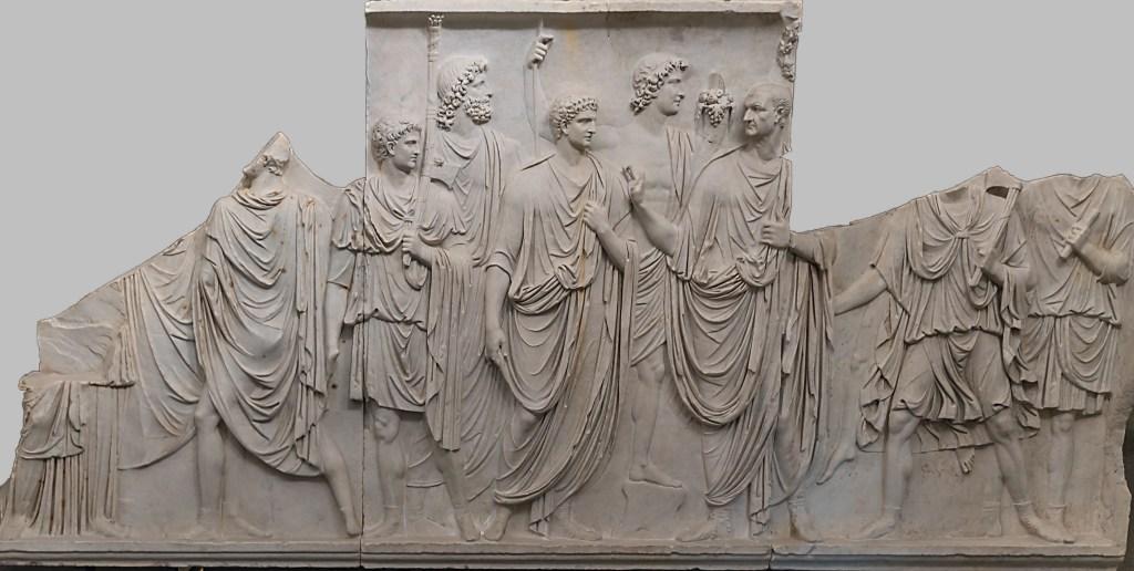 The Cancelleria Relief, frieze B.