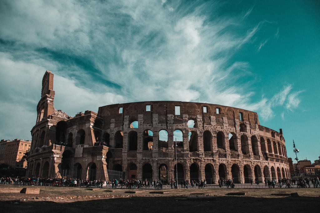 The Coloseum in Rome - a site of murder